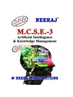 MCSE - 003 Artificial Intellegence and Knowledge Management - IGNOU Guide Book For MCSE003 - English Medium