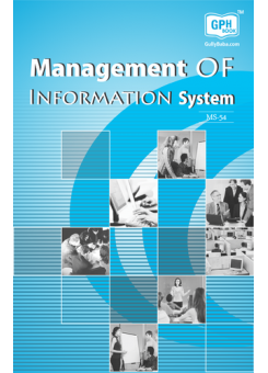 IGNOU- MS-54 Management of Information System