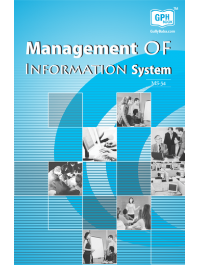 MS54 Management of Information System - IGNOU Guide Book For MS54 - English Medium