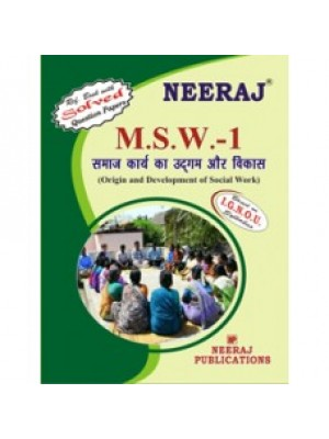 MSW-1 Origin & Development of Social Work