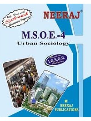 IGNOU : MSOE - 004 URBAN SOCIOLOGY (ENGLISH)