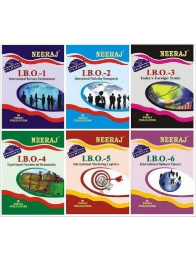 IGNOU M.com First Year - IBO1,IBO2,IBO3,IBO4,IBO5 & IBO6 in English Medium
