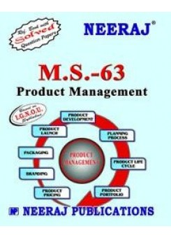 IGNOU : MS-63 Product Management