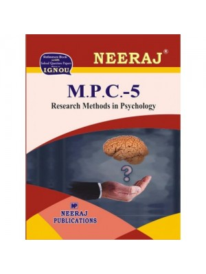 MPC-5 Research Methods in Psychology in English Medium