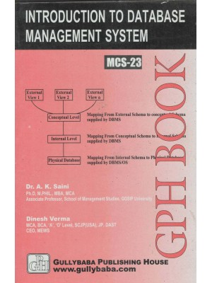 MCS-23 Introduction to Database Management Systems - GPH Publication