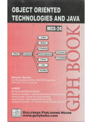 MCS-24 Object Oriented Technologies and Java Programming - GPH Publication
