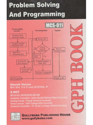 MCS-11 Problem Solving and Programming Through C - GPH PUBLICATION