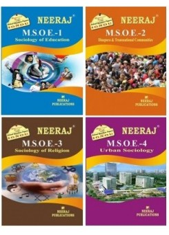 IGNOU : MSOE1 | MSOE2 | MSOE3 | MSOE4 in English Medium Combo