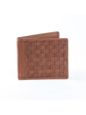 Fashion Star Brown Genuine Leather Designer Wallet