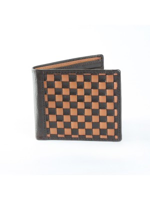 Fashion Star TAN Genuine Leather Designer Wallet
