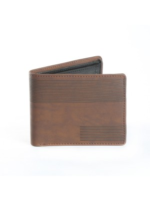 Fashion Star Brown Premium Leather Designer Wallet