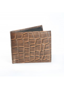 Fashion Star Brown Stylish Leather Biofold Wallet
