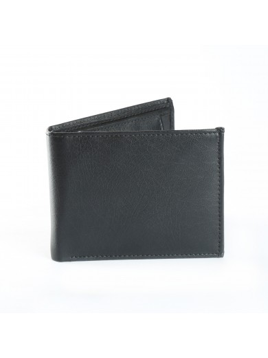 Fashion Star Classy Black Leather Biofold Formal Wallet