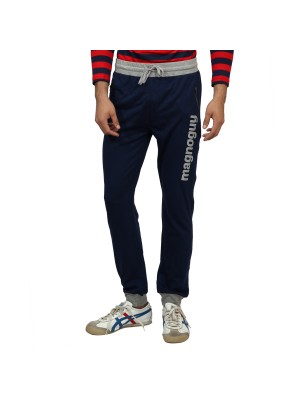 Magnoguy Print Solid Men's Track Pants