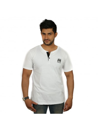 Solid Men's Henley T-Shirt - Magnoguy