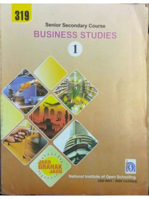 NIOS-319 Business Study - Part 1 & 2 in English Medium