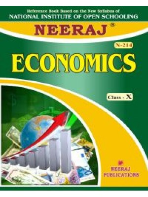 NIOS - 214 Economics - Guide Book For Class 10th - English Medium