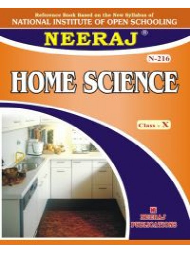 N-216 Home Science Class-X (ENGLISH MEDIUM) NIOS