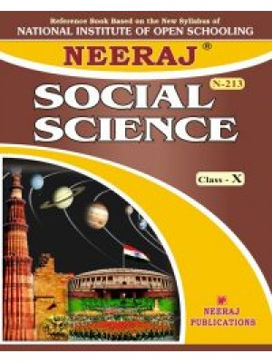 NIOS - 213 Indian Social Science - Guide Book For Class 10th - English Medium