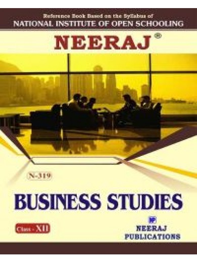 N-319 Business Studies in English Medium - 12th Class