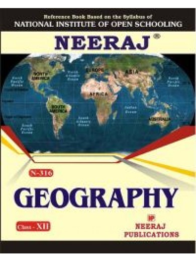 NIOS - 316 Geography - Guide Book For Class 12th - English Medium