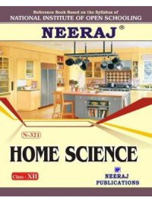 NIOS - 321 Home Science - Guide Book For Class 12th - English Medium