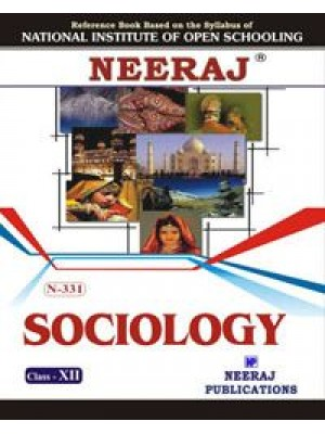 NIOS - 331 Sociology Guide Book For Class 12th - English Medium