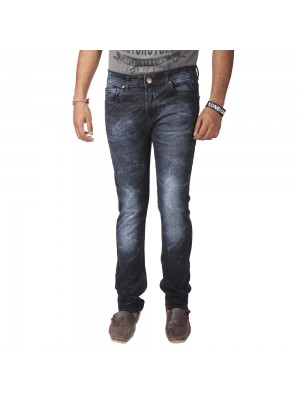ReFocus Black  Casual Jeans for Men
