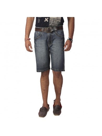 ReFocus Sand Blue Casual Shorts for Men