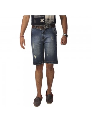 ReFocus Blue Casual Shorts for Men