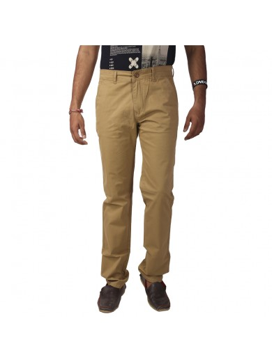 ReFocus Beige Casual Jeans for Men