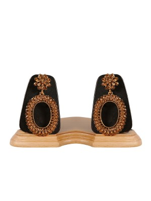Trendmagnet Gold Platted Designer Earrings