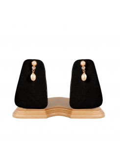 Trendmagnet Elegant Designer Earring with Natural Pearls