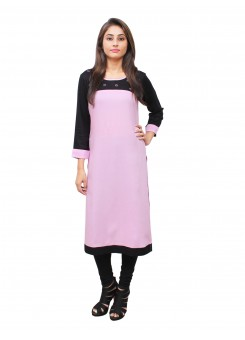 Magnogal Pink Kurti For Women RS7600-C
