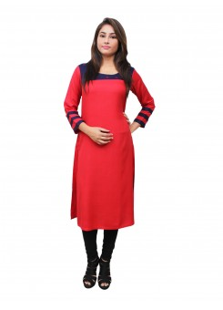 Magnogal Red Kurti For Women RS7600-G