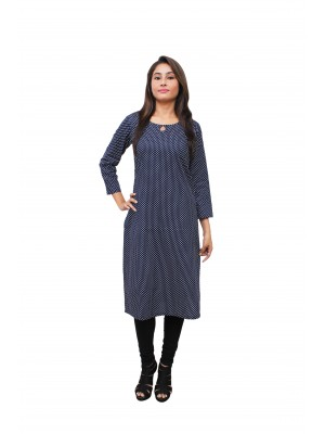 Magnogal Blue Kurti For Women RS7600-J