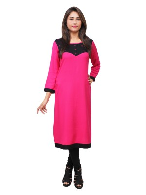 Magnogal Pink Kurti For Women RS7600-L