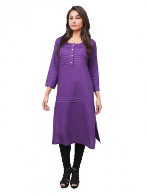 Magnogal Purple Kurti For Women RS7600-N