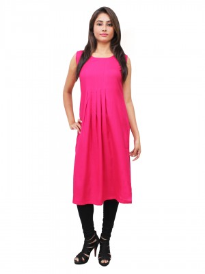 Magnogal Pink Kurti For Women RS7600-O