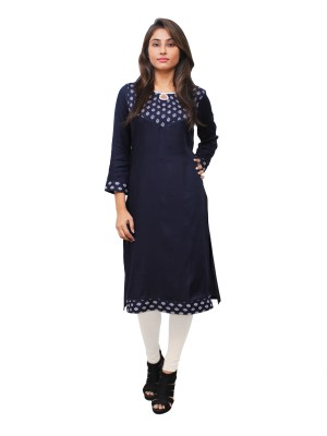 Magnogal Blue Kurti For Women RS7600-Q