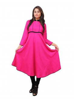 Magnogal Pink Kurti For Women RS7600-U