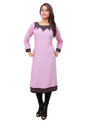 Magnogal Pink Kurti For Women RS7600-V