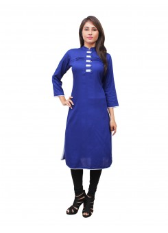 Magnogal Blue Kurti For Women RS7600-W