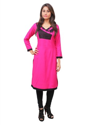 Magnogal Pink Kurti For Women RS7600-Y