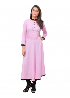 Magnogal Pink Kurti For Women RS7600-Z