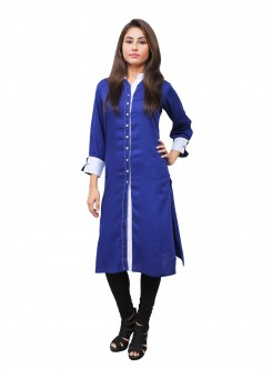 Magnogal Blue Kurti For Women RS-7700-D