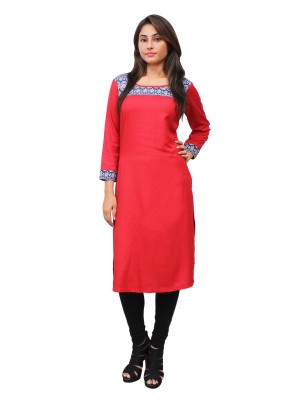 Magnogal Red Kurti For Women RS-7700-G