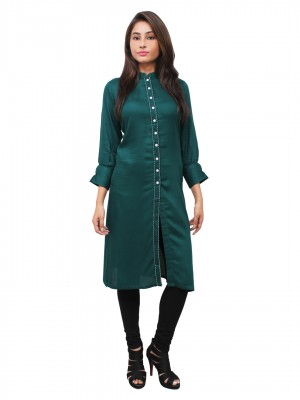 Magnogal Green Kurti For Women RS-7700-H