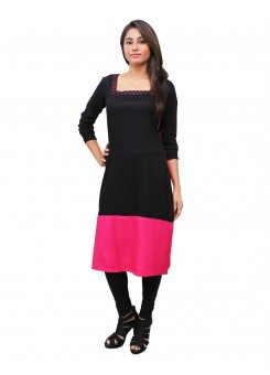 Magnogal Multi-Coloured Kurti For Women RS-7700-I