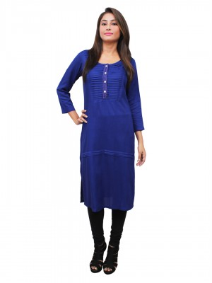 Magnogal Blue Kurti For Women RS-7700-K